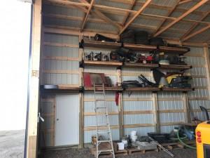 Great idea for pole barn storage