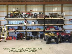 Man cave storage