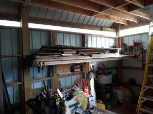 Great storage for post frame building