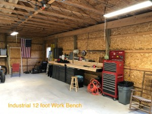 Awesome work bench. Great value. Industrial strength