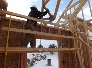 SCAFF-ALL Bracket System 10 - 12 feet of horizontal scaffolding